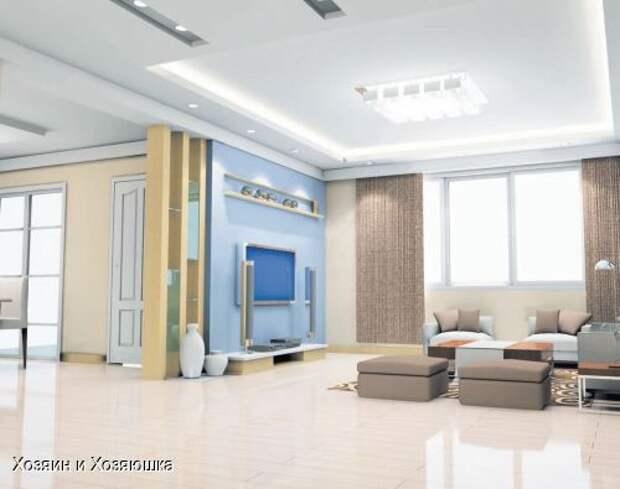 Грамотное освещение квартиры