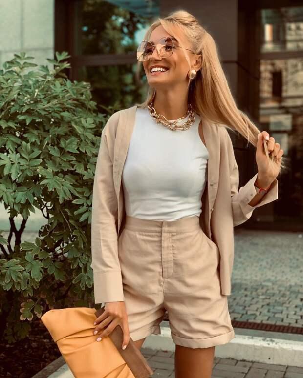 Модные шорты женские весна-лето 2021: комфортные и эффектные новинки (+13 фото)