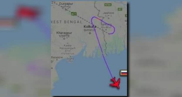 Самолёт министра обороны РФ Сергея Шойгу был перехвачен над Бангладеш