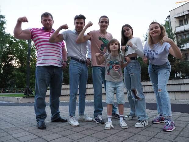 Табачниковы из Хорошёво-Мнёвников признаны самой спортивной семьёй Москвы