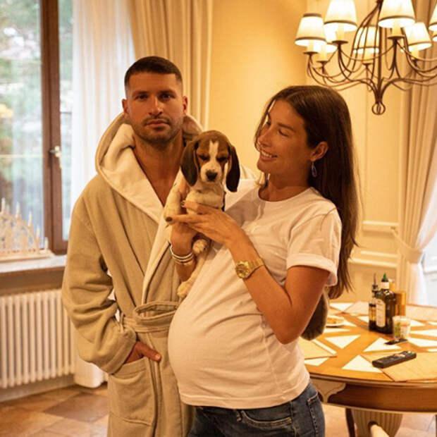 Кети Топурия родила сына от Льва Деньгова: первое фото и имя ребенка