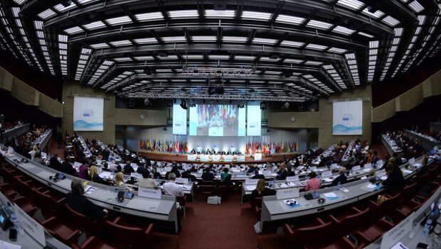 Парламентская ассамблея ОБСЕ в Женеве, архивное фото