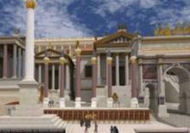 Закончена виртуальная реконструкция Рима