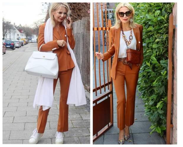 Стиль изящной модницы из Германии: Подборка для женщин 55+