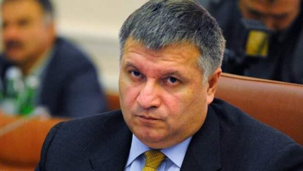Министр внутренних дел Арсен Аваков. Архивное фото.