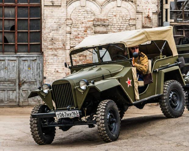 После войны в автопарк ГАИ попало много этих авто.  Фото: fotokto.ru.