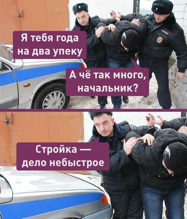 На Урале начальник тюрьмы вывел заключенных работать на строительстве дома полицейского