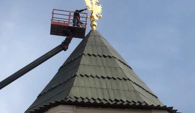На Измайловском острове отреставрировали Мостовую башню