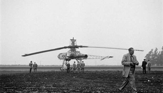 Экспериментальный вертолет Hughes XH-17. Неудавшийся рекорд