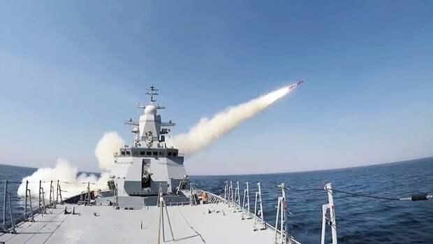 Россия встретила суда НАТО в Балтике новейшими ракетами