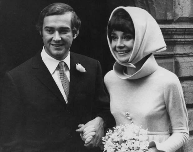 Свадьба Одри Хепберн и Андреа Дотти