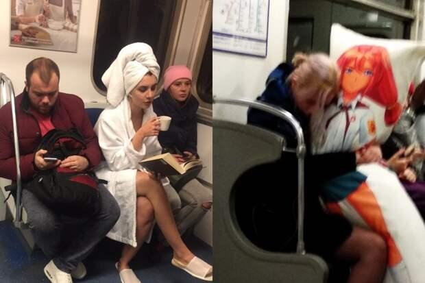 10+ пассажиров отечественного метро, удививших своих попутчиков