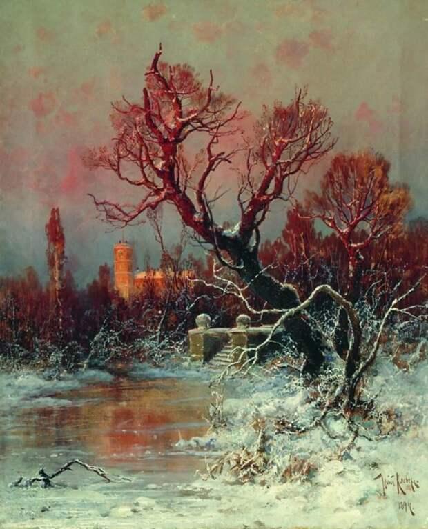 художник Юлий Юльевич Клевер картины – 09