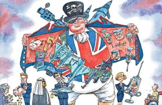 Как и за что должна платить и каяться Великобритания