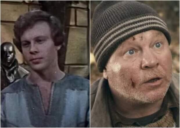Владислав Толдыков в фильмах «После дождичка в четверг» (1985) и «Жить» (2010)