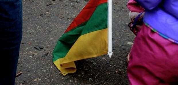 Два солдата из США надругались над флагом Литвы