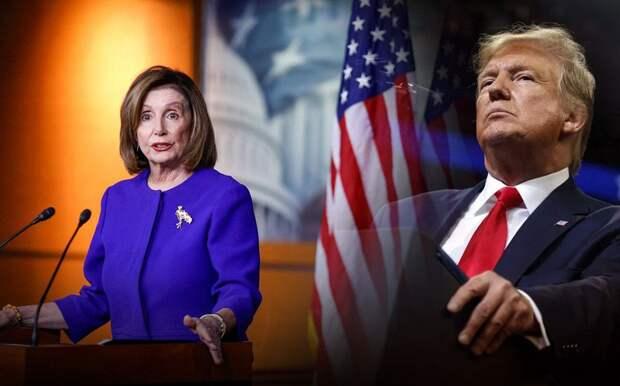 Пелоси официально призвала удержать Трампа от «приказа о нанесении ядерного удара»