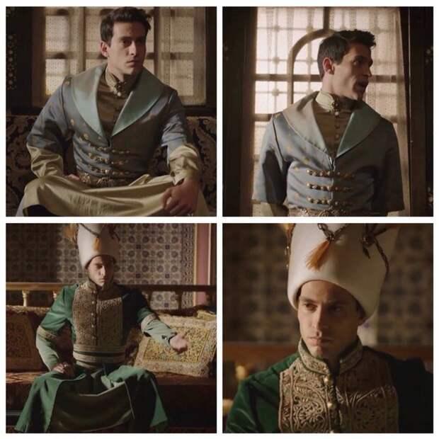 """Шикарные наряды и украшения из сериала """"Великолепный Век. Кесем"""""""