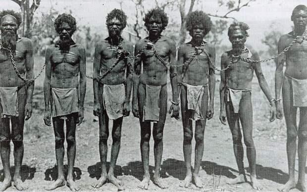 История о том, как чуть не уничтожили коренное население Австралии