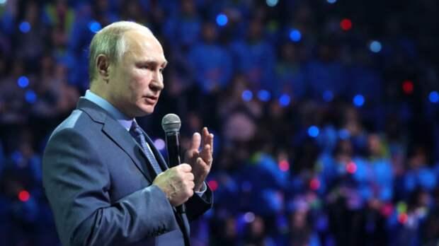 Путин потребовал равноправия для русскоязычных жителей Украины