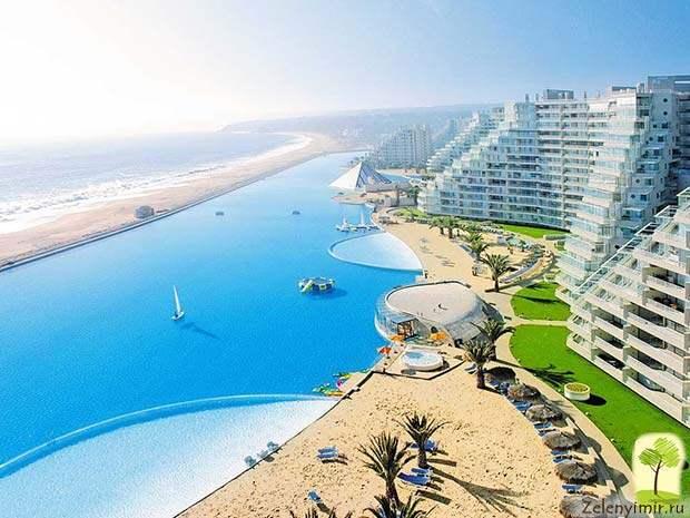 Самый большой бассейн в мире - Сан Альфонсо дель Мар, Чили - 8