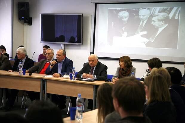 Михаил Горбачев провел презентацию книги «Горбачев в жизни» и провел лекцию для студентов МГУ.