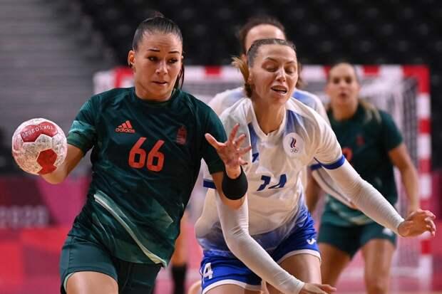 Российские гандболистки обыграли Венгрию на Олимпиаде в Токио