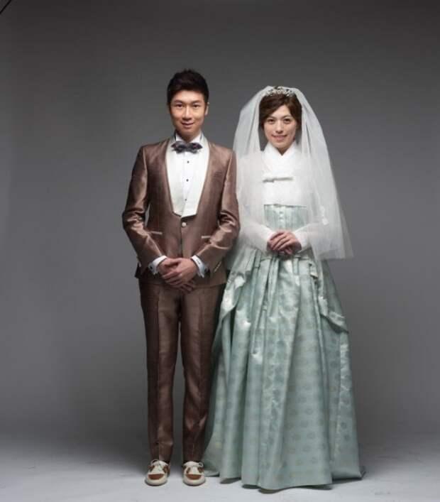 Свадебные наряды корейского народа