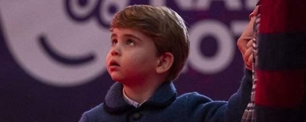 Принц Уильям и Кейт Миддлтон показали подросшего сына Луи