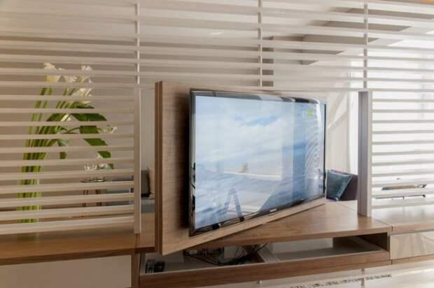 6 способов размещения телевизора в интерьере