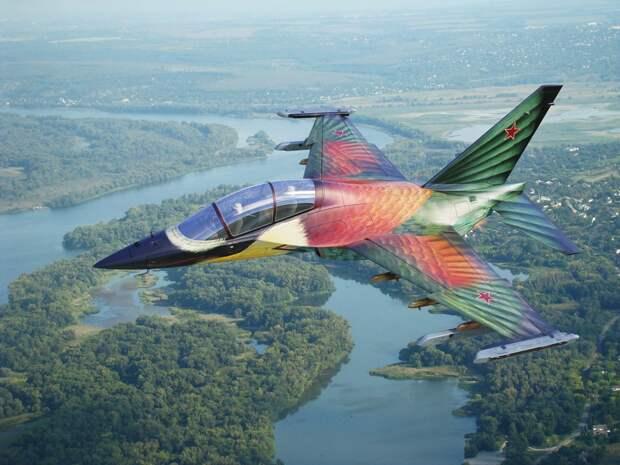 """Як-130 """"Щурка"""" красивый, самолёт, як-130"""