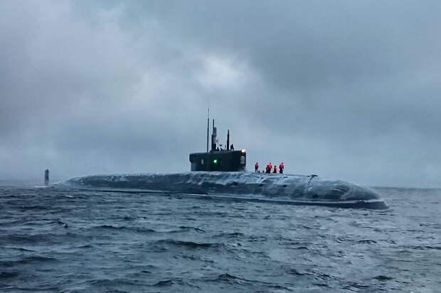 Источник сообщил о задержке передачи в состав ВМФ подлодки «Князь Владимир»
