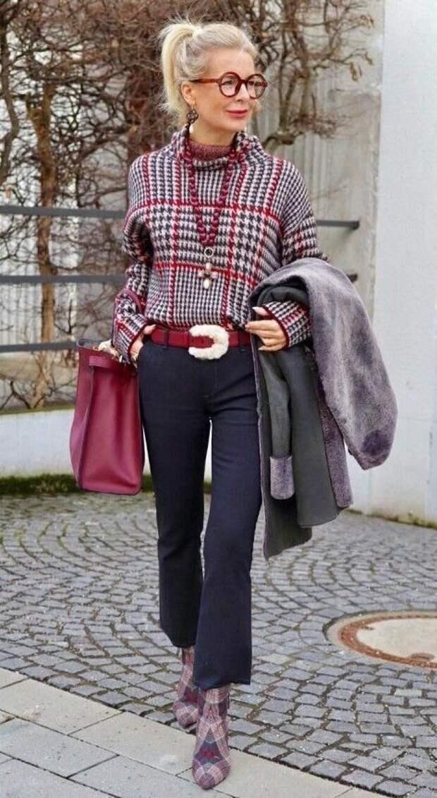 7 аксессуаров для женщин после 60-ти лет, которые мало кто носит, но смотрятся красиво и со вкусом