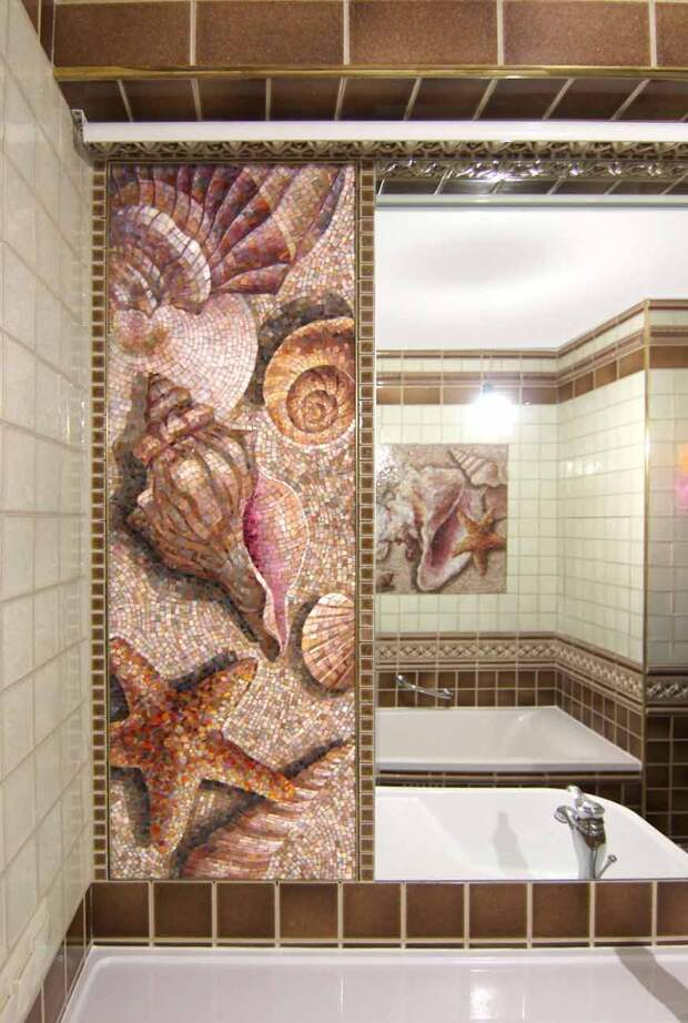 Декоративно-мозаичное панно