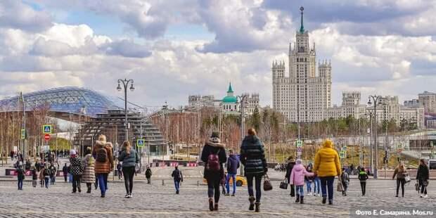 Сергунина рассказала о «работе на перспективу» в туристической отрасли Москвы