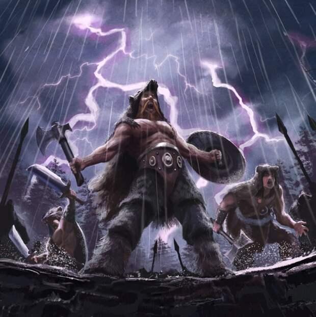 Древняя волчья магия или откуда пошли легенды об оборотнях