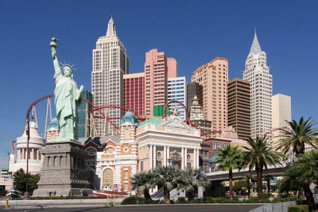 Казино «Нью-Йорк» в Лас-Вегасе.