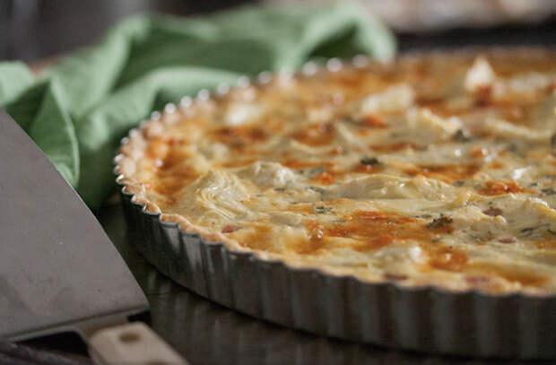 Открытый сырный пирог: вкуснота со всякой всячиной