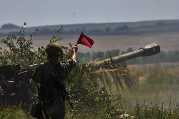 Артиллеристы общевойсковой армии ЗВО провели специальные учения по рикошетной стрельбе в Воронежской области