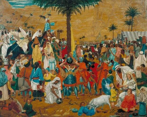 Дадд посещал Египет. / Фото: pinimg.com.