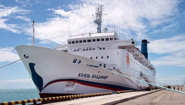 Отменены все майские круизы лайнера «Князь Владимир»
