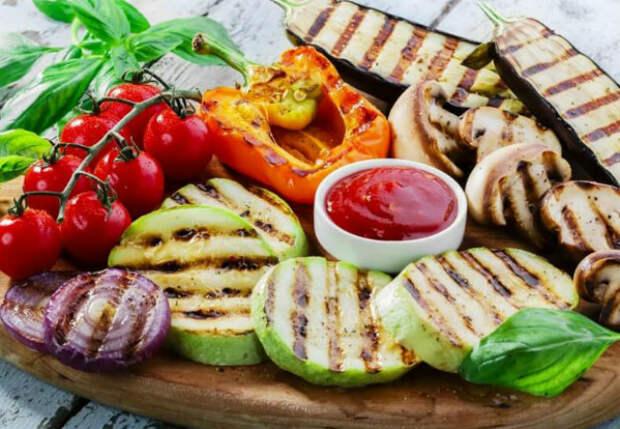 Маринад для овощей на гриле: закуска уходит быстрее шашлыка