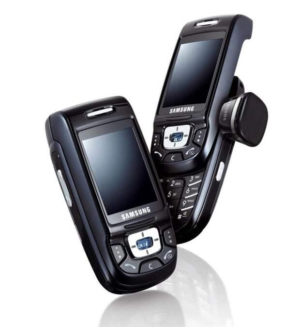 8. Samsung D500 (2005, $700) история, телефон, факты