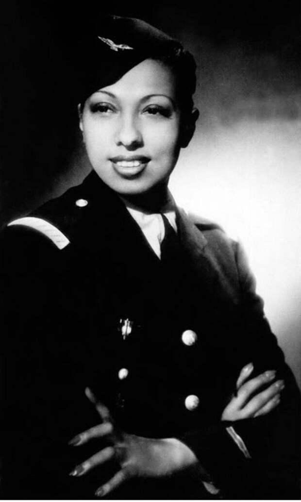 Танцовщица-лейтенант, да к тому же еще и чернокожая: неподражаемая Жозефина Бейкер