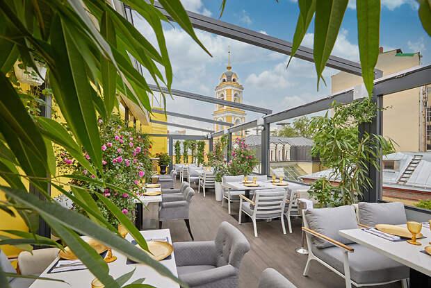 Ресторан «Пифагор» открыл веранду на 100 человек!
