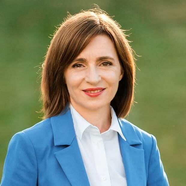Санду лидирует на президентских выборах в Молдавии