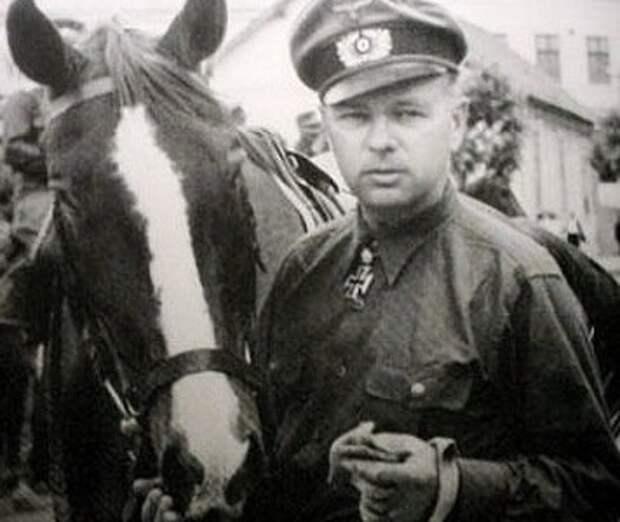 Гельмут Паннвиц: как немец стал атаманом у русских предателей