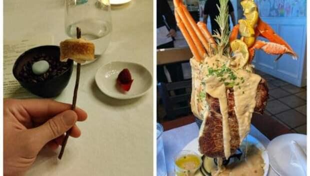 «Просто дайте мне тарелку!»: 22 самых безумных примера подачи блюд