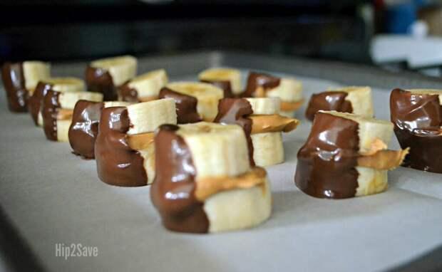 Бананово-шоколадное лакомство — отличная альтернатива мороженому