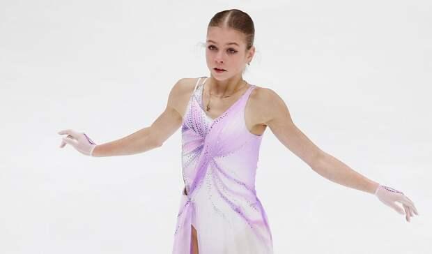 Леонова: «Ошибка Трусовой была случайностью. Возможно, она не справилась с нервами»